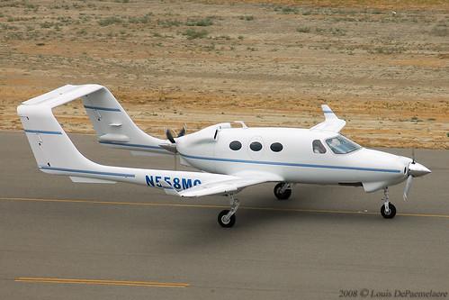 Adams Aircraft A500 N558MC I Dug Into The Photo