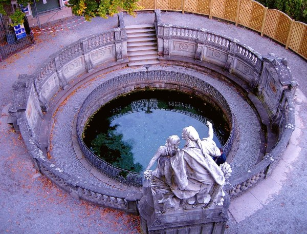 The Danube Source Donaueschingen The source of the