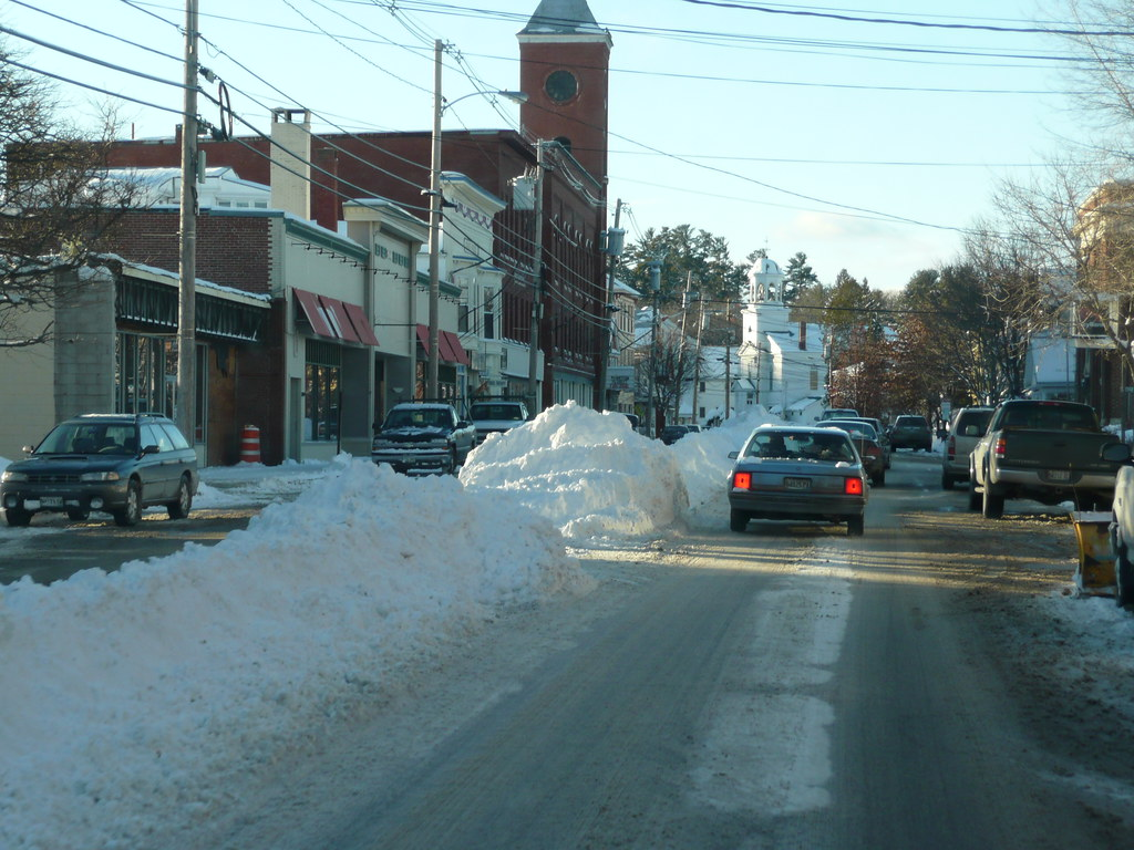 Main Street Norway Maine This Is How They Dispose Of