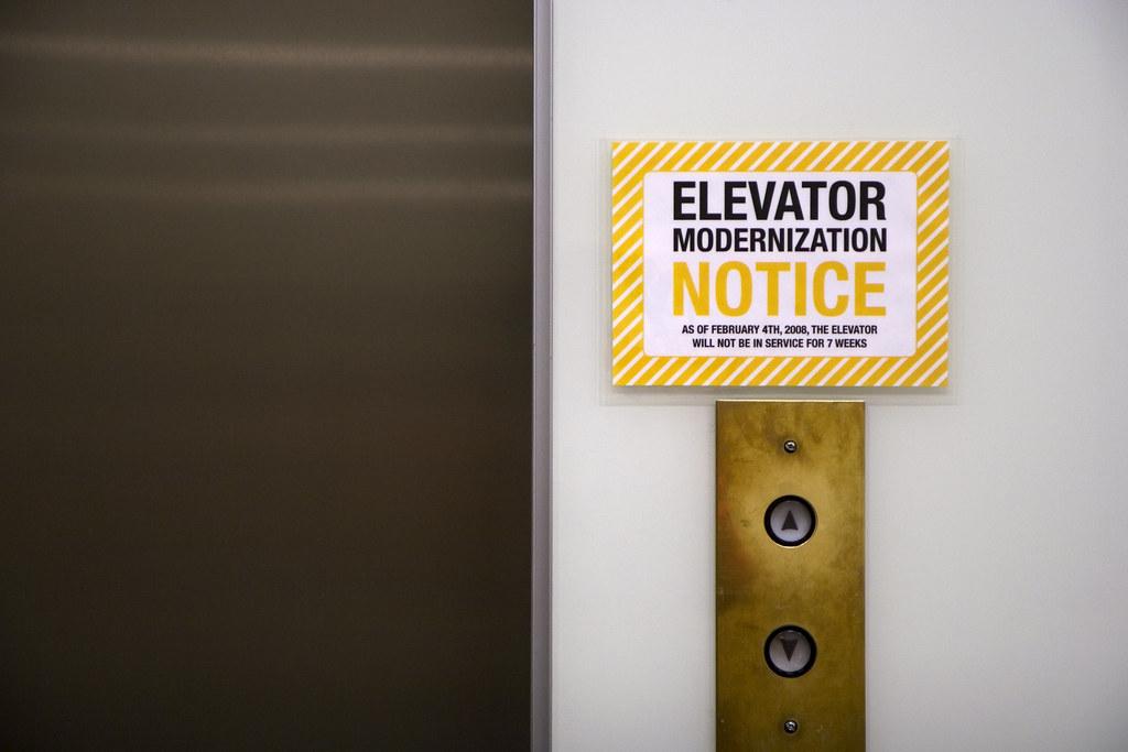 Elevator Modernization I M Not Entirely Sure What