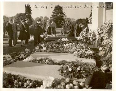 Milton Hershey Funeral 1945 Hershey Milton S Funeral