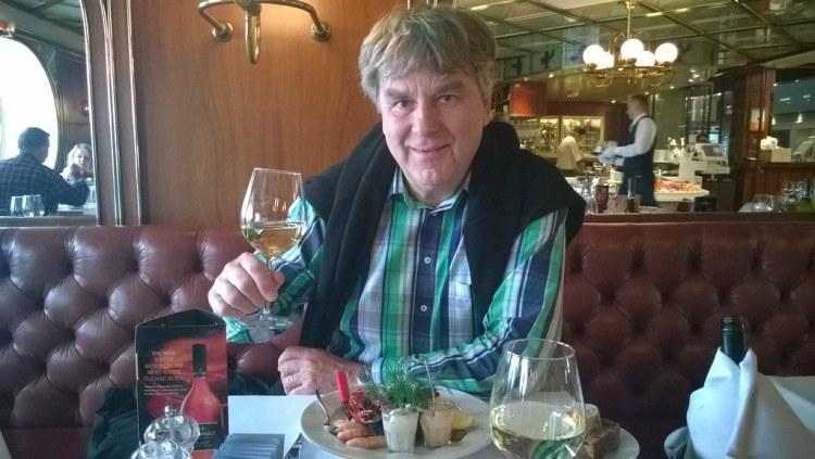 Silja Symphony illallisella (1)