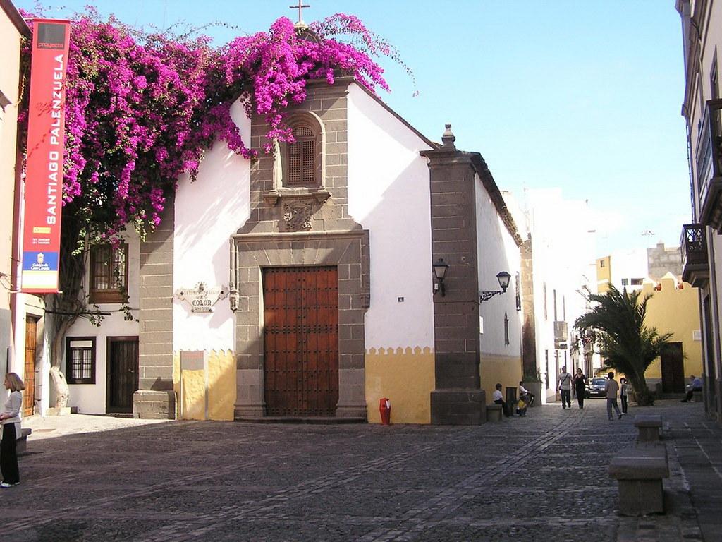 Plaza y Ermita de San Antonio Abad barrio de Vegueta Las Palmas de Gran Canaria 03