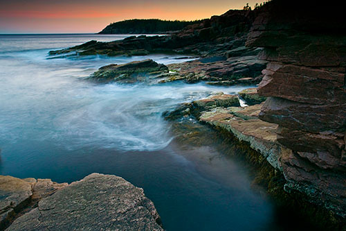 Thunder Hole Acadia National Park Maine Atlantic Ocean