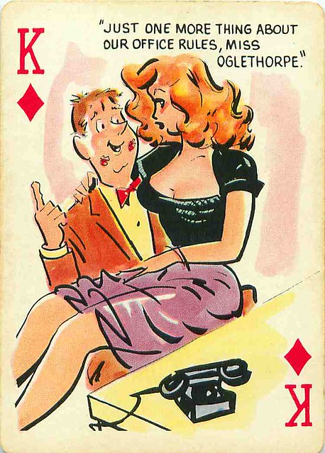 Pin Up Cartoon Playing Cards Mark Anderson Flickr