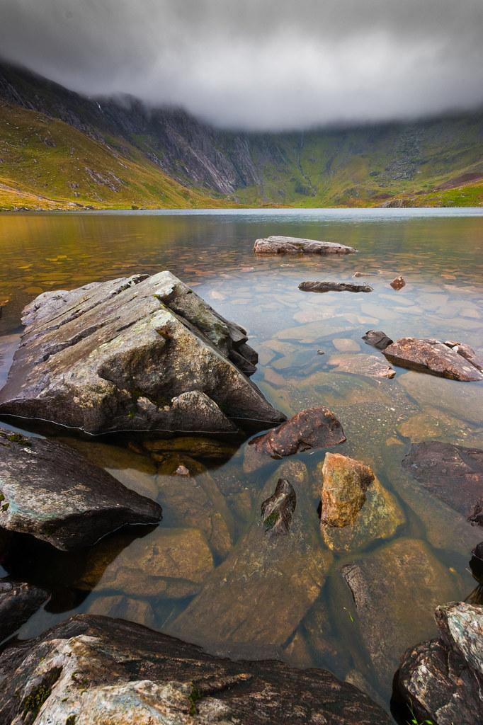 Llyn Idwal 4 Cwm Idwal Snowdonia North Wales Sony