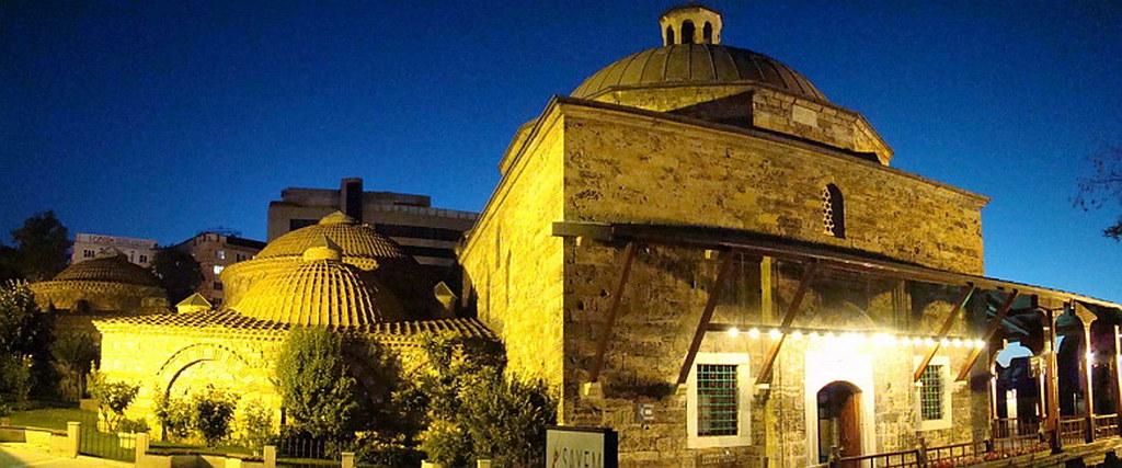 Turquia Bursa baños turcos del Barrio de Çekirge 49