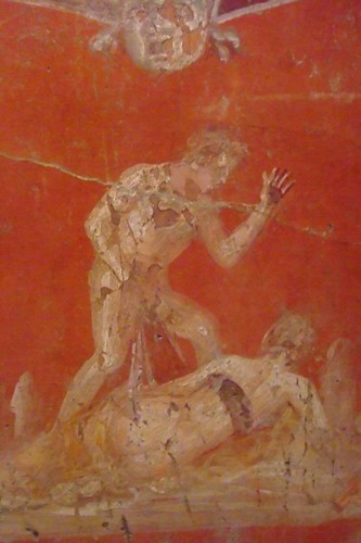 Pompeii Fresco From The Secret Room In The Museo Archaeolo
