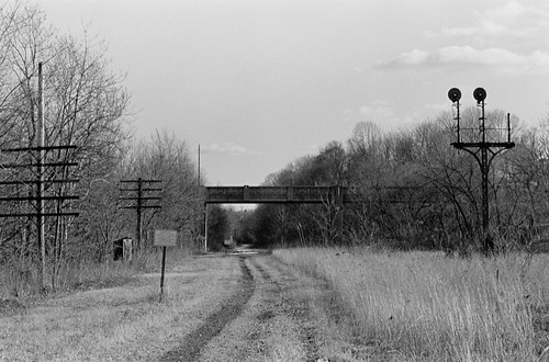 Lehigh Valley Railroad South Once A Four Track Swath Of
