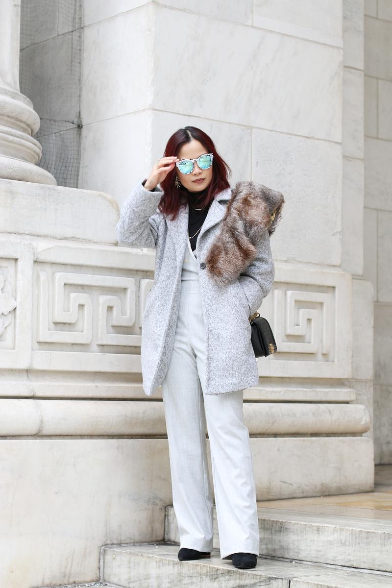 gray-outfit-trina-turk-jumpsuit-catherine-malandrino-coat-stole-7