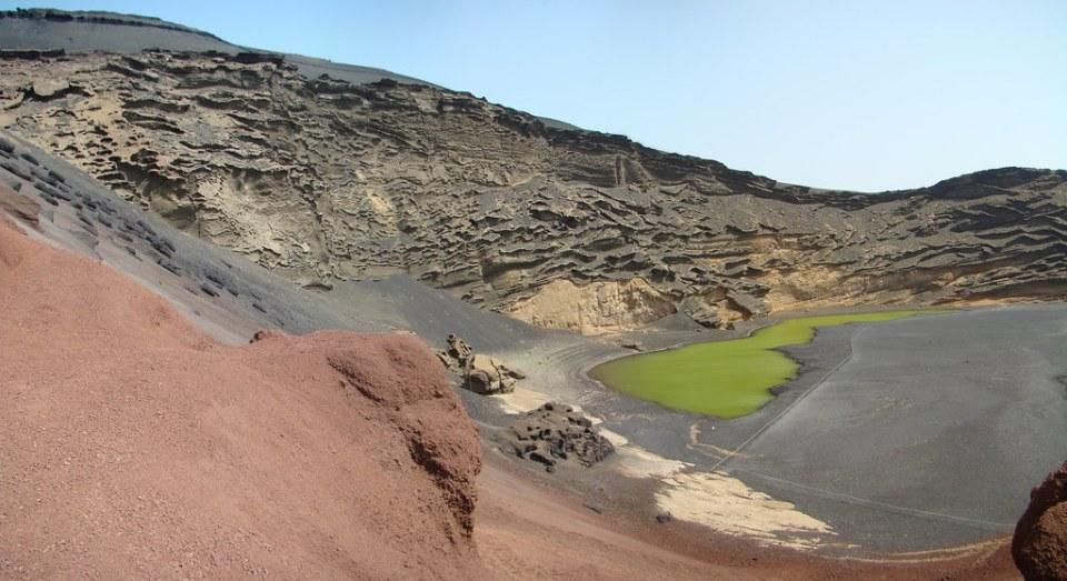 El Golfo el Charco verde o de los Clicos Lanzarote 07