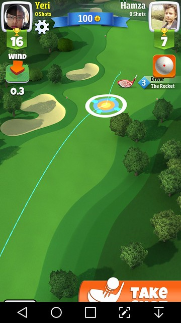 golf clash review ground