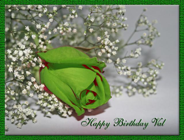 Happy Birthday Val Happiest Birthday To My First Flickr Fr Flickr