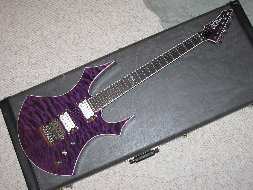 2008 BC RICH VIRGIN Custom Shop Guitar 2009 NAMM Show Di