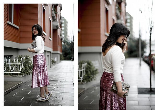 falda-lentejuelas-rosa-midi-isabel-marant-sneakers-farfetch-myblueberrynightsblog