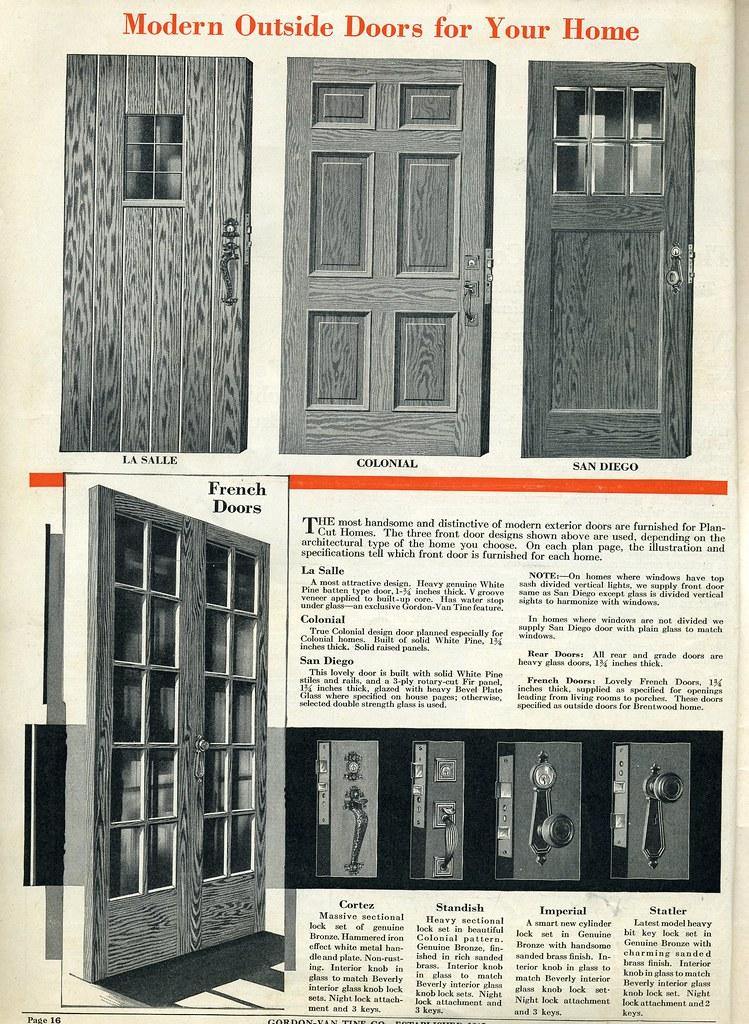Gordon Van Tine Antique Doors Interior Amp Exterior