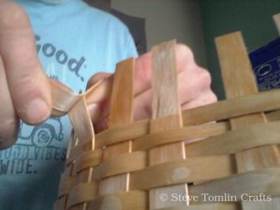 ash splint basket making