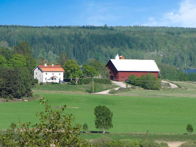 Swedish Farm Sdermanland Olof Senestam Flickr