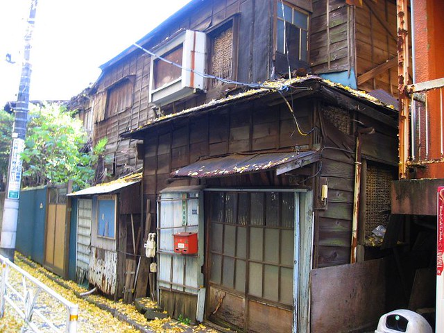 Tokyo Slum Ba Might Look Like This But Since Its Beside
