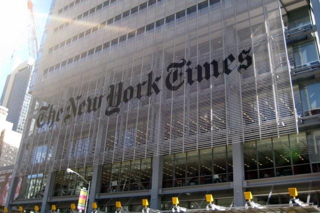 Resultado de imagem para the new york times building