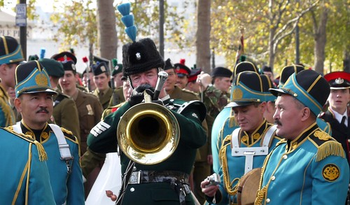 Kazakstan Military Band at the Lord Mayor's Show 2007 | Flickr