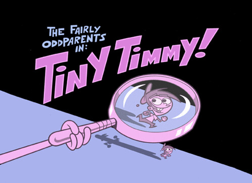 The Fairly OddParents In Tiny Timmy Fairly OddParents