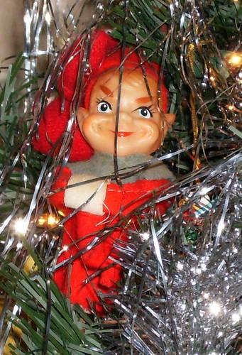Creepy Christmas Elf This Elf Is Currently Looking Down