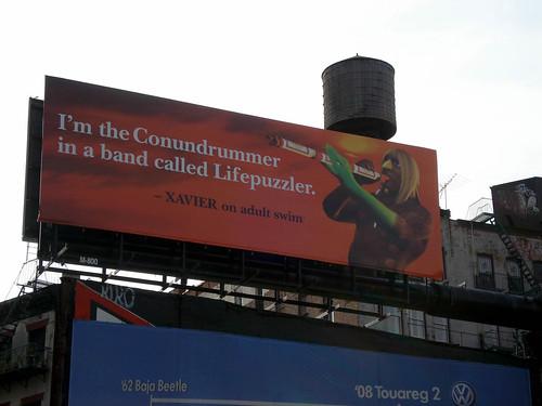 Xavier Renegade Angel Billboard NY Thanks To Jim And Jo Flickr