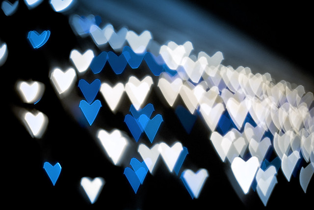Jagged Blue Hearts George Flickr