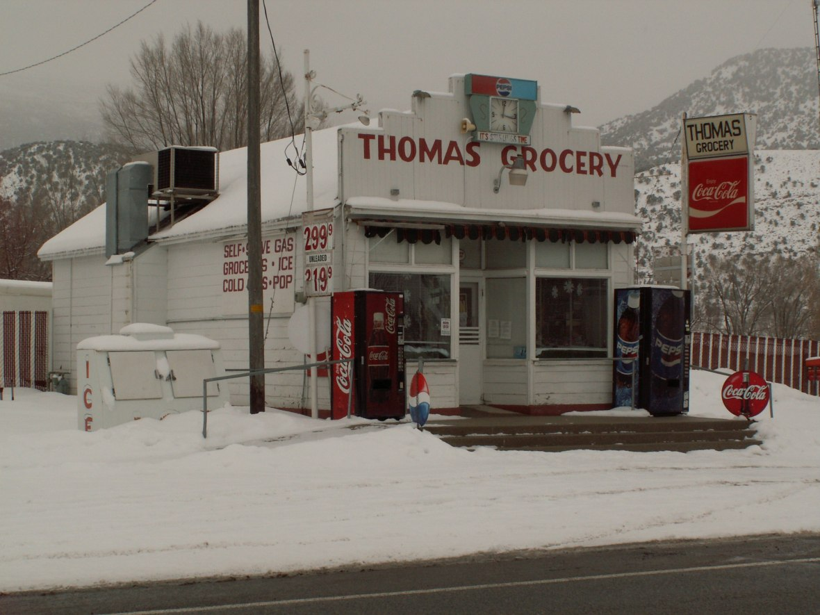 Thomas Grocery - 95 South Main Street, Sterling, Utah U.S.A. - February 1, 2008