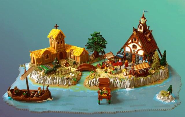 Island of Catan - LEGO Colons de Catane