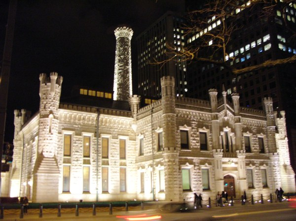 2008 Water Works Building at Night, Chicago, IL | The ...