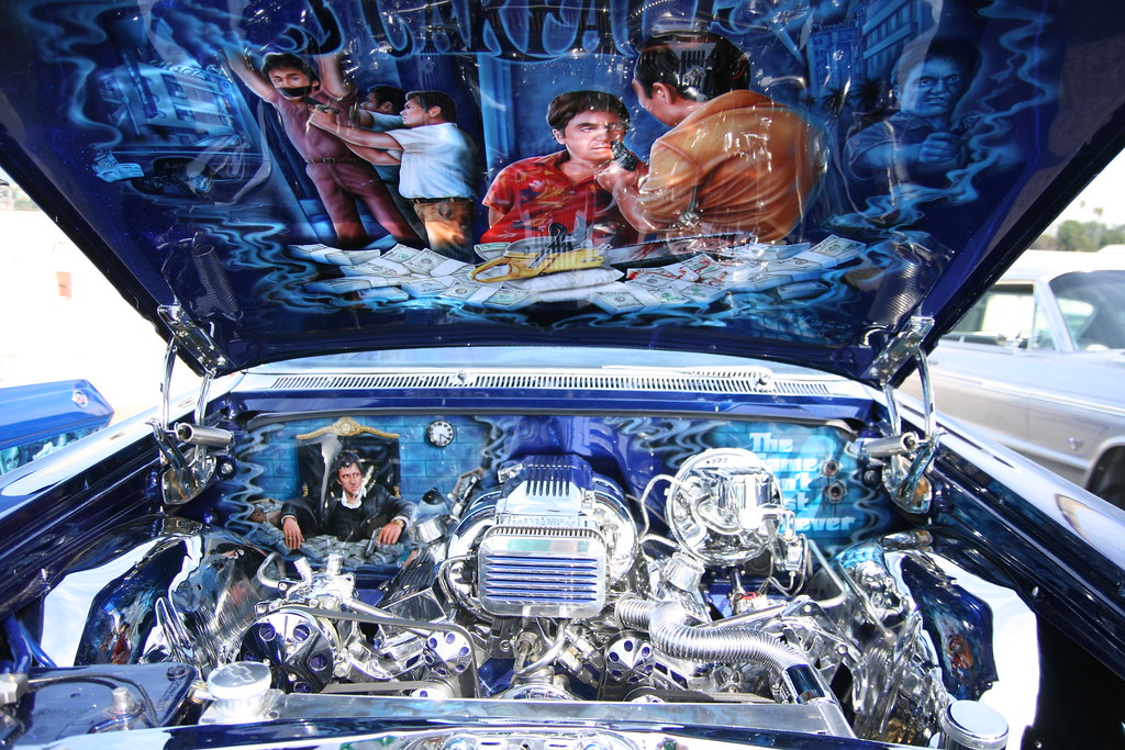 Scarface Impala Engine Compartment A Trip Down To The