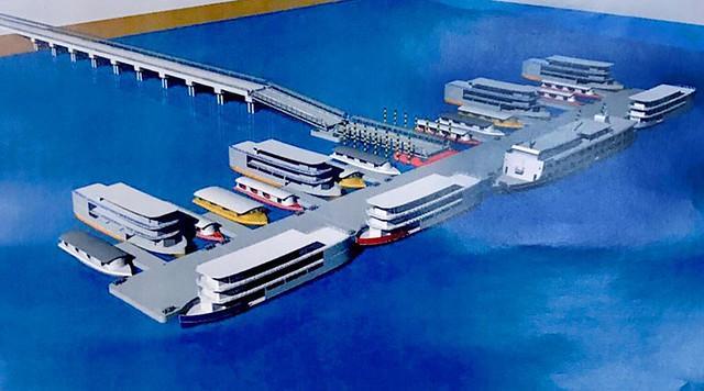 Projeto do terminal hidroviário de Santarém será atualizado pela Naval Engenharia, Projeto terminal hidroviário de Santarém