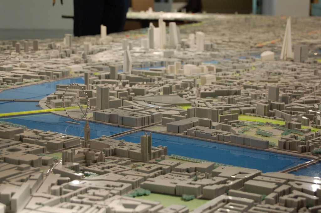 Building Centre Scale Model Of London Westminster London