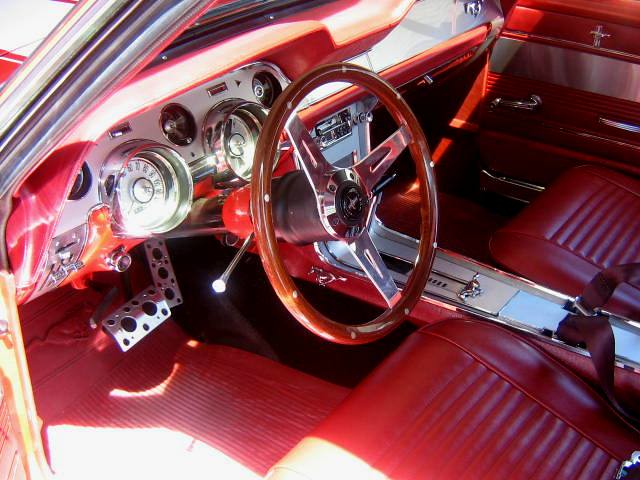 1967 Mustang Red Interior 67 Mustang Red Interior Flickr
