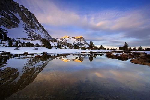 Vogelsang Sunrise At Fletcher Lake Yosemite National