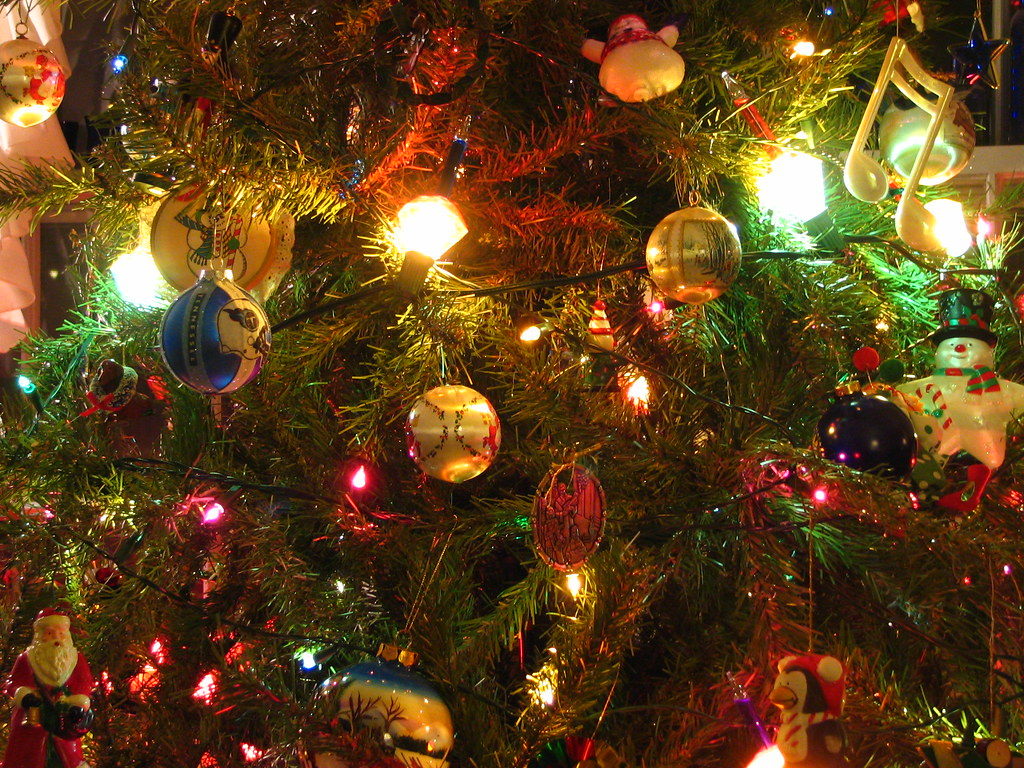 Christmas Tree Closeup MariLynns Current Wallpaper