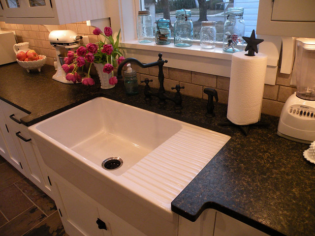 Farmhouse Sink With Drainboard Flickr Photo Sharing