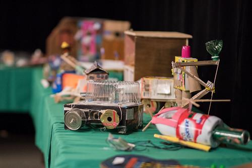 Finalistes du Concours international de jouets fabriqués à partir de matériaux recupérés