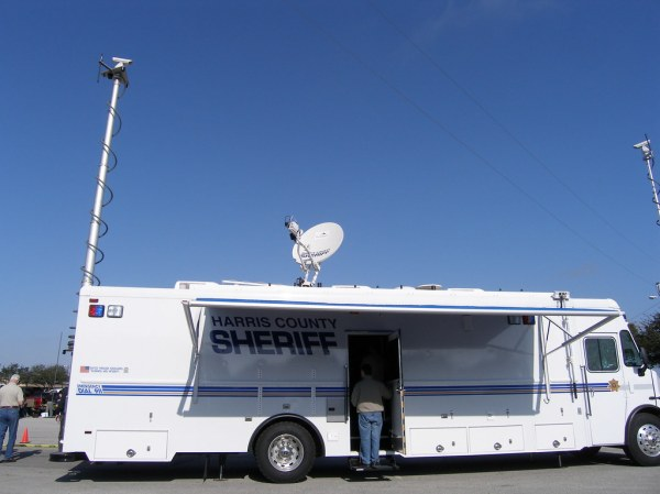 Harris County Sheriff, Mobile Command Communications, Grea ...