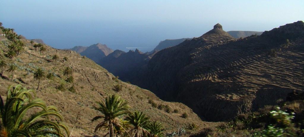 Roque del Sombrero Ruta a Monumento Natural de Los Roques Isla de la Gomera 25