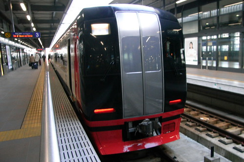 名鉄特急 (limited express of Nagoya electric railway)