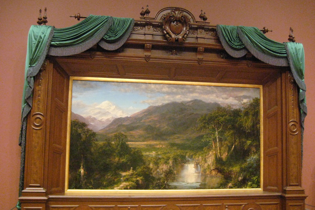 Nyc Metropolitan Museum Of Art Frederic Edwin Church S Flickr