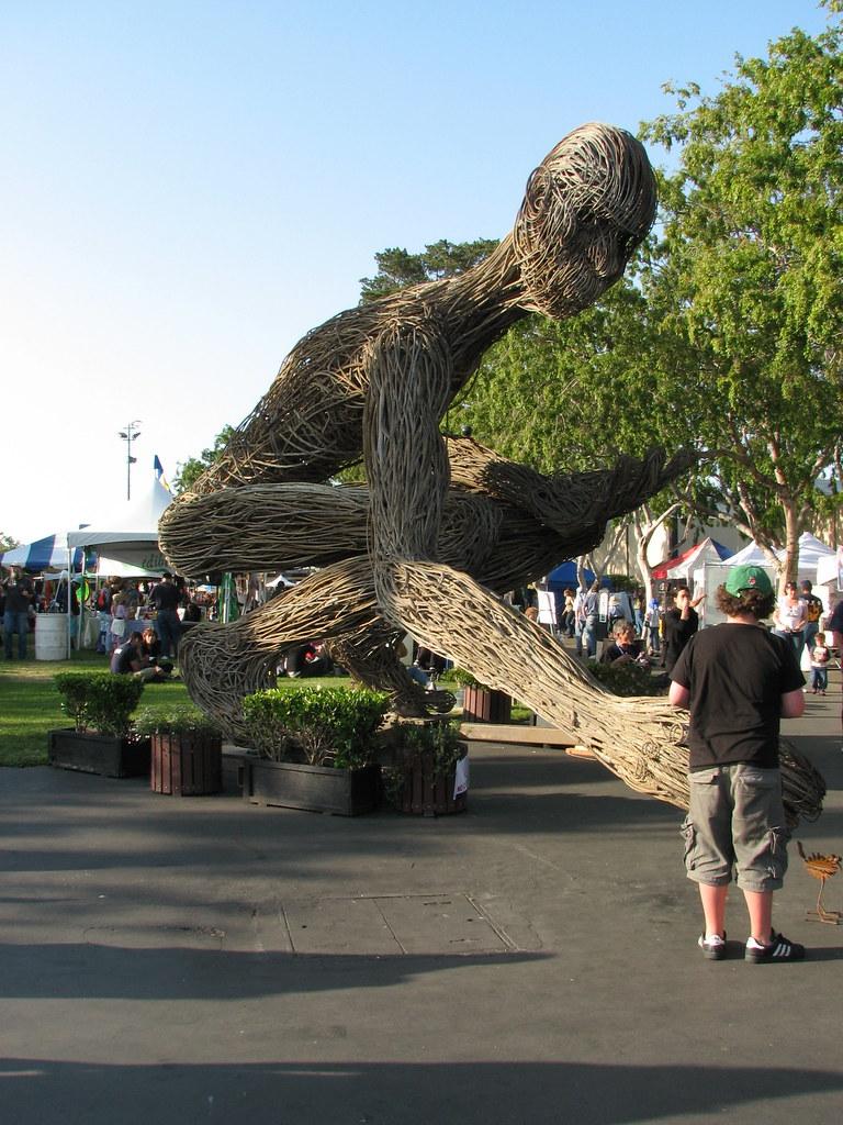 Amazing Rebar Sculpture Mira Mechtley Flickr