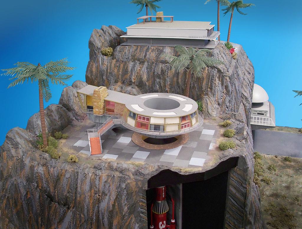 Tracy Island Round House A Big Diorama I Created After