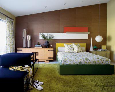 1960s Palm Springs Mid Century Modern Bedroom From Met Ho