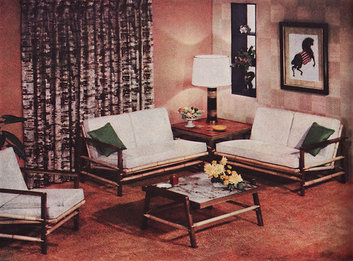 1955 Koylon Foam Ad For Living Room The Furniture Was By