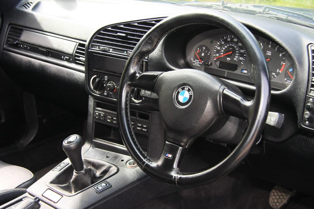 1996 BMW M3 Interior IMG9719 Tony Harrison Flickr