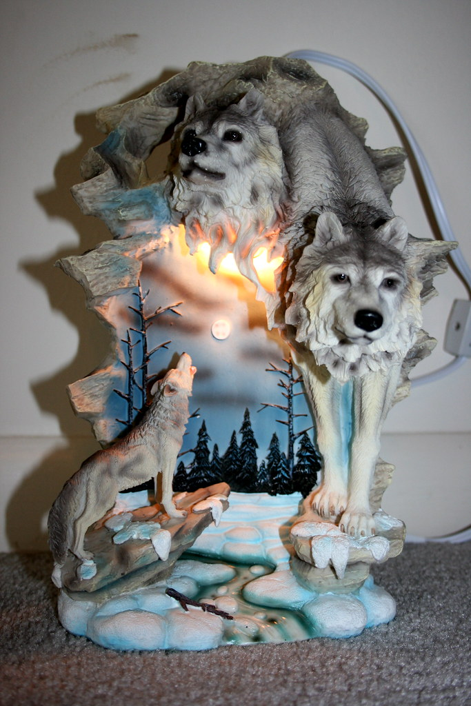 Wolf Lamp Wedding Present Eli Duke Flickr